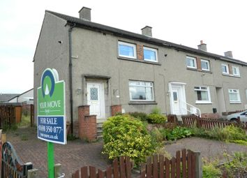 Thumbnail 2 bedroom terraced house for sale in Tollpark Crescent, Newmains, Wishaw