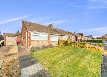 Thumbnail 2 bedroom semi-detached bungalow for sale in Bentinck Avenue, Middlesbrough