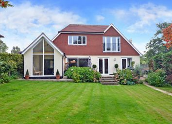 Thumbnail 5 bed detached house for sale in Highfields, East Horsley