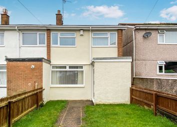 Thumbnail 3 bed terraced house for sale in Laburnum Close, Barry