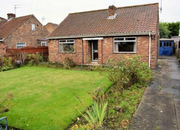 Thumbnail 2 bed detached bungalow for sale in Flaxley Road, Selby