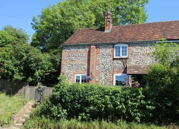 Thumbnail 2 bed semi-detached house for sale in Hungerford Hill, Lambourn, Hungerford