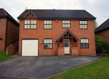 Thumbnail 4 bed detached house for sale in Geneva Drive, Stoke-On-Trent