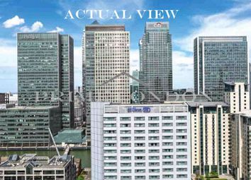 Thumbnail 3 bed flat for sale in Maine Tower, Harbour Central, Canary Wharf