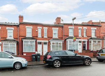 Thumbnail 2 bedroom terraced house for sale in Greswolde Road, Birmingham, West Midlands
