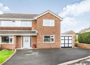 Thumbnail 4 bed detached house for sale in Woodside, Ashby-De-La-Zouch, Leicestershire