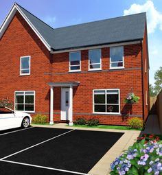Thumbnail 4 bed semi-detached house for sale in Brine Well Crescent, Stoke Prior, Bromsgrove