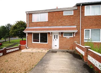 Thumbnail 3 bedroom end terrace house for sale in Beech Park, Brandon, County Durham