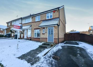 Thumbnail 3 bed end terrace house for sale in Fisher Close, Sutton In Ashfield, Nottinghamshire, Notts
