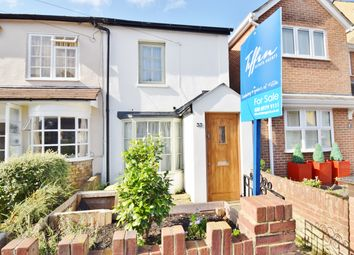 Thumbnail 2 bed end terrace house for sale in Cross Street, Hampton Hill