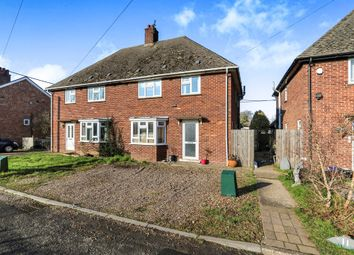 Thumbnail 3 bedroom semi-detached house for sale in Norwich Road, Besthorpe, Attleborough