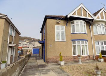 Thumbnail 3 bed semi-detached house for sale in Dynevor Road, Skewen, Neath