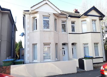 Thumbnail 2 bed semi-detached house for sale in Manor Road South, Southampton