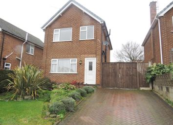 Thumbnail 3 bed detached house for sale in Pentewan Close, Allestree, Derby