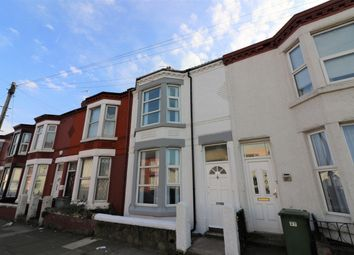 Thumbnail 4 bed terraced house to rent in St Pauls Road, Wallasey, Wirral, 7Ah