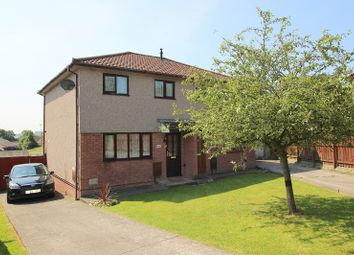 Thumbnail 3 bed semi-detached house for sale in Ashbrook, Brackla, Bridgend.