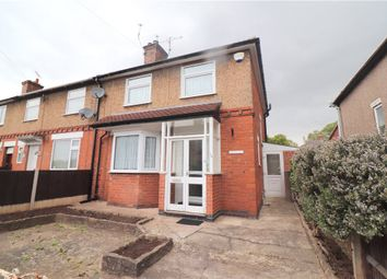 Thumbnail 3 bed end terrace house for sale in Dorset Road, Coventry, West Midlands