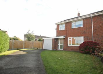 Thumbnail 3 bed semi-detached house for sale in Baytree Close, St. Martins, Oswestry