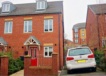 Thumbnail 3 bedroom semi-detached house for sale in Hexagon Close, Manchester