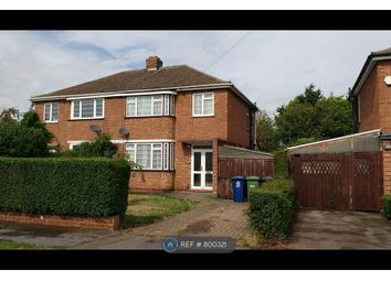 Thumbnail 3 bed semi-detached house to rent in Olivia Road, Brampton, Huntingdon