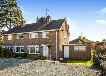 Thumbnail 3 bed semi-detached house for sale in Park Street, Oswestry, Shropshire
