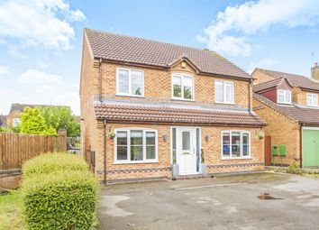 Thumbnail 4 bedroom detached house for sale in Scalborough Close, Countesthorpe, Leicester
