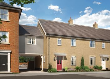 Thumbnail 3 bed link-detached house for sale in Halstead Road, Stanway, Colchester