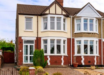 Thumbnail 3 bed semi-detached house for sale in Everswell Road, Fairwater, Cardiff