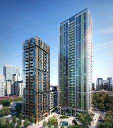 Thumbnail 1 bedroom flat for sale in Laker Court, 39 Harbour Way, London