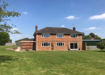 Thumbnail 4 bed detached house to rent in Salisbury Road, Abbotts Ann, Andover, Hampshire