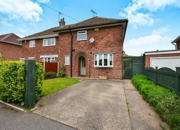 Thumbnail 3 bed semi-detached house for sale in Mansfield Road, Warsop, Mansfield, Nottinghamshire