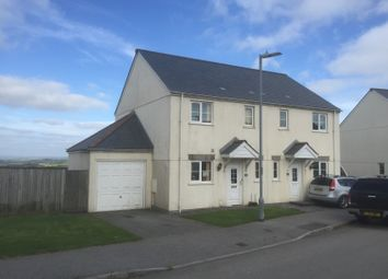 Thumbnail 3 bed semi-detached house to rent in St Michaels Way, Roche