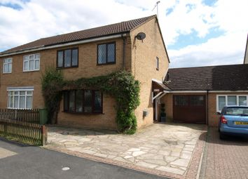 Thumbnail 4 bed semi-detached house for sale in Wordsworth Avenue, Newport Pagnell, Buckinghamshire