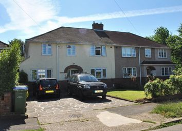 Thumbnail 4 bed semi-detached house for sale in Dunstall Way, West Molesey