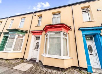 Thumbnail 3 bedroom terraced house for sale in Lawrence Street, Stockton-On-Tees