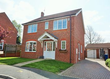 Thumbnail 4 bed detached house for sale in Edgar Close, Scotter
