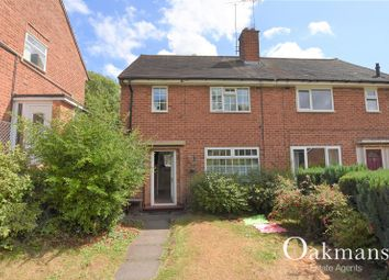 Thumbnail 2 bed semi-detached house to rent in Ferncliffe Road, Birmingham, West Midlands.