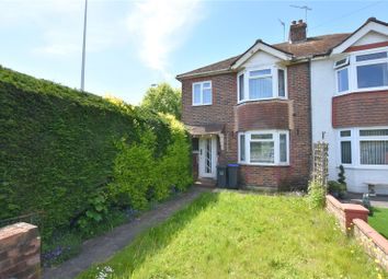 Thumbnail 3 bed detached house for sale in Manor Road, North Lancing, West Sussex