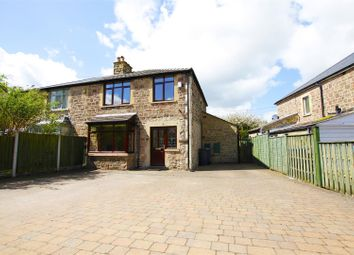 Thumbnail 3 bed semi-detached house for sale in Calver Road, Baslow, Derbyshire
