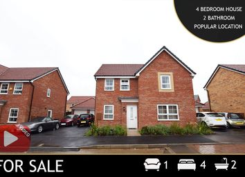 Thumbnail 4 bed detached house for sale in Gregory Way, Wigston, Leicestershire