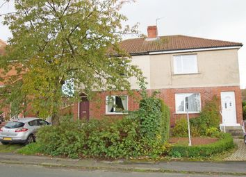 Thumbnail 2 bed semi-detached house for sale in Fair View, Esh Winning, Durham