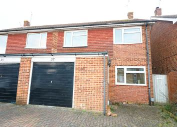 Thumbnail 3 bed terraced house to rent in Collard Road, Willesborough, Ashford