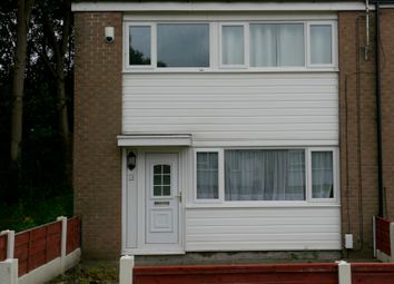 Thumbnail 3 bed end terrace house to rent in Tinsley Grove, Bolton