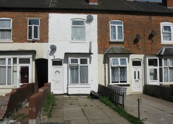 Thumbnail 3 bed terraced house for sale in Mount Pleasant Ave, Handsworth, Birmingham