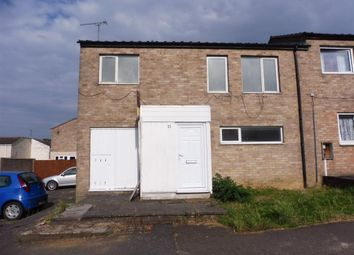 Thumbnail 3 bed end terrace house for sale in Grimsby Close, Corby