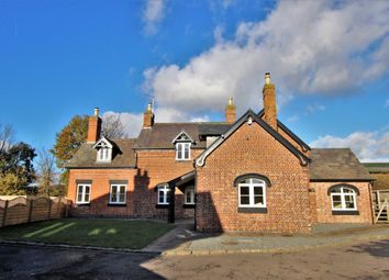 Thumbnail 4 bed detached house for sale in Station Drive, Moira, Swadlincote
