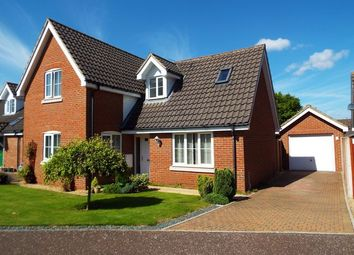 Thumbnail 3 bedroom detached house for sale in Oakleigh Drive, Swaffham