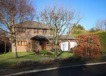 Thumbnail 4 bed detached house to rent in Sylvan Way, Grange Estate, Church Crookham, Fleet