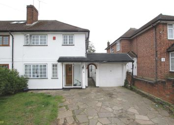 Thumbnail 3 bed semi-detached house for sale in Chestnut Drive, Harrow Weald