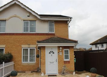 Thumbnail 3 bed semi-detached house for sale in Livesey Close, Thamesmead, London